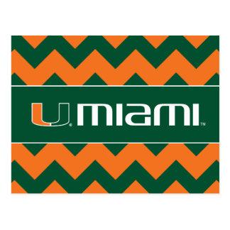 Universidad de la marca secundaria de Miami Miami Postales