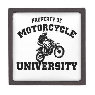 Universidad de la motocicleta caja de regalo de calidad