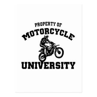 Universidad de la motocicleta postales
