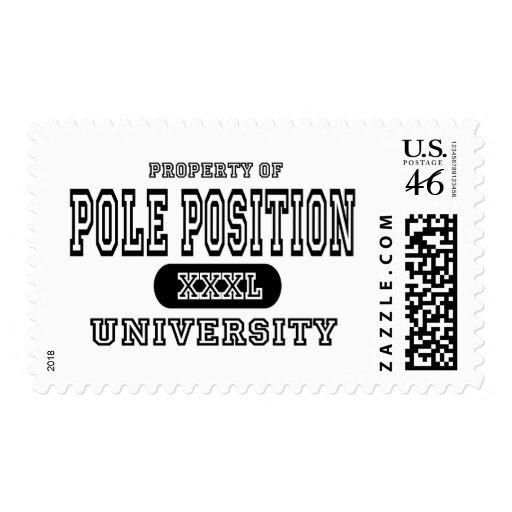 Universidad de la pole position sellos