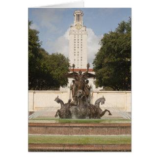 Universidad de la torre de reloj de Texad Felicitacion