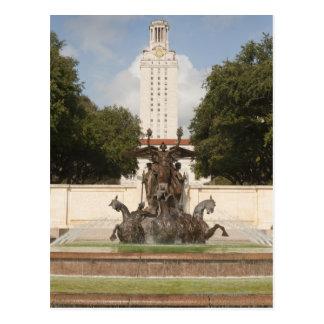 Universidad de la torre de reloj de Texad Tarjetas Postales