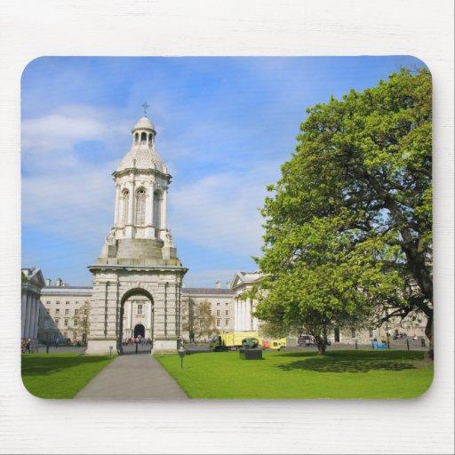Universidad de la trinidad en Dublín Mouse Pads