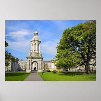 Universidad de la trinidad en Dublín Póster