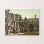Universidad de la trinidad, Oxford, Inglaterra Puzzle Con Fotos
