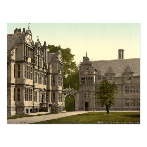 Universidad de la trinidad, Oxford, Inglaterra Postales
