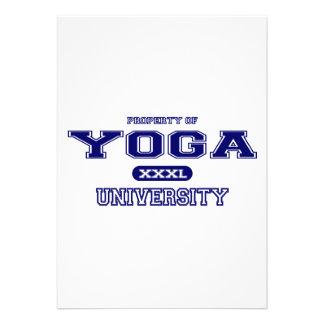 Universidad de la yoga comunicado personal