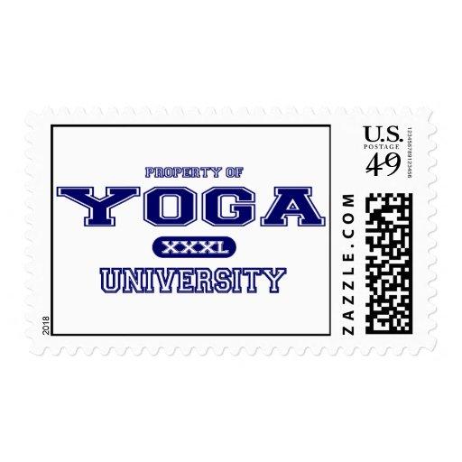 Universidad de la yoga franqueo