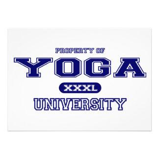 Universidad de la yoga invitacion personal