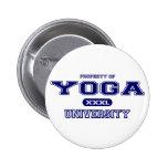 Universidad de la yoga pins