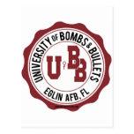 Universidad de las bombas y de las balas Eglin Postal