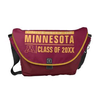 Universidad de los alumnos de Minnesota Bolsas Messenger