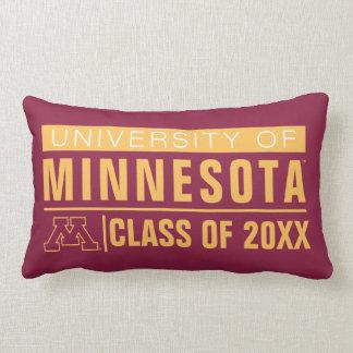 Universidad de los alumnos de Minnesota Almohadas