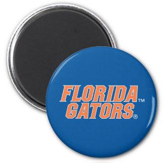 Universidad de los cocodrilos de la Florida Imán Redondo 5 Cm