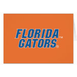 Universidad de los cocodrilos de la Florida Tarjeta De Felicitación