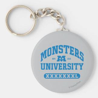Universidad de los monstruos - Est. 1313 Llavero Redondo Tipo Pin