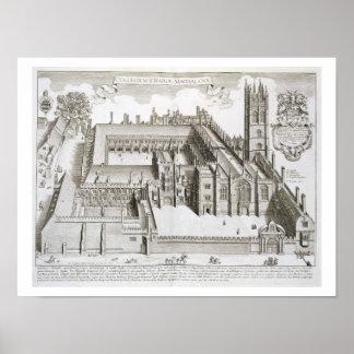 Universidad de Magdalen, Oxford, de 'Oxonia Illust Posters