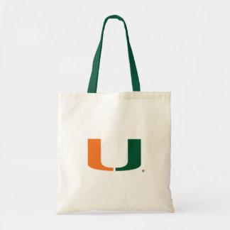 Universidad de Miami U Bolsa Tela Barata