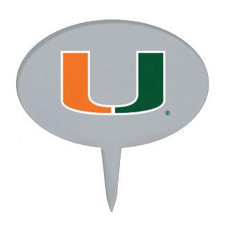 Universidad de Miami U Decoraciones Para Tartas