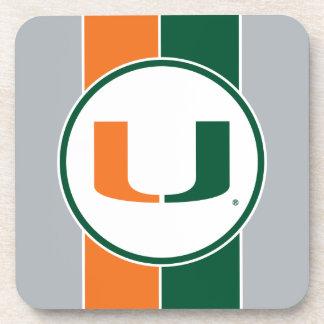 Universidad de Miami U Posavasos De Bebidas