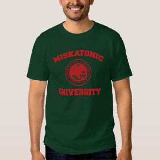 Universidad de Miskatonic Camisas