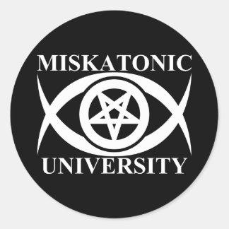 UNIVERSIDAD DE MISKATONIC ETIQUETAS