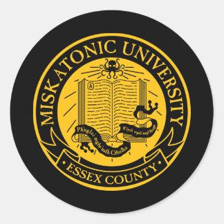 Universidad de Miskatonic Pegatinas