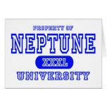 Universidad de Neptuno Tarjetón