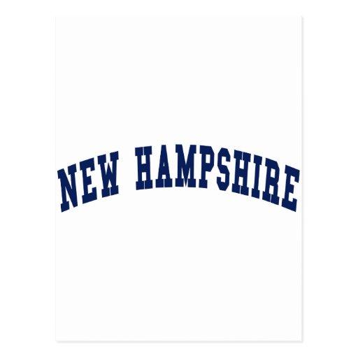 Universidad de New Hampshire Tarjeta Postal