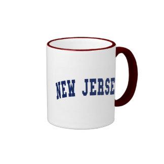Universidad de New Jersey Tazas De Café