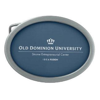 Universidad de ODU Strome del negocio Hebilla De Cinturón Oval