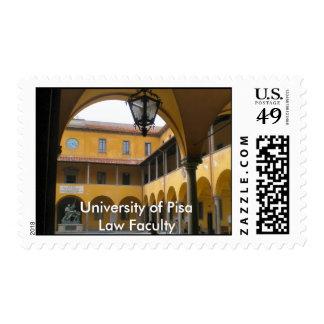 Universidad de Pisa, facultad de derecho Sello