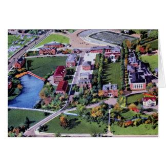 Universidad de Reno Nevada de Nevada Tarjeta De Felicitación