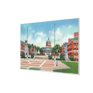 Universidad de Rochester Impresión En Lienzo Estirada