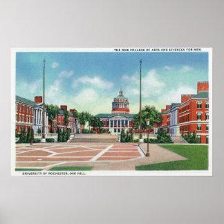 Universidad de Rochester Póster