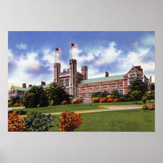 Universidad de St. Louis Missouri Washington Impresiones