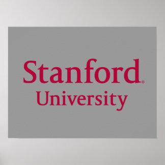 Universidad de Stanford apilada Póster