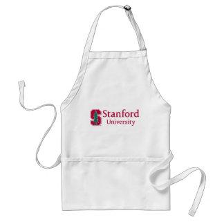 """Universidad de Stanford con el bloque cardinal """"S"""" Delantal"""