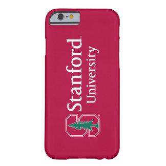 """Universidad de Stanford con el bloque cardinal """"S"""" Funda De iPhone 6 Barely There"""
