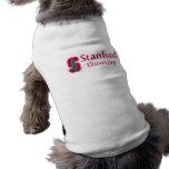 """Universidad de Stanford con el bloque cardinal """"S"""" Playera Sin Mangas Para Perro"""