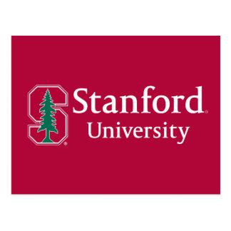 """Universidad de Stanford con el bloque cardinal """"S"""" Postal"""
