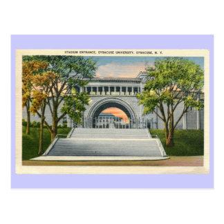Universidad de Syracuse de la entrada del estadio Postal