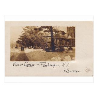 Universidad de Vassar, febrero de 1914 Postales