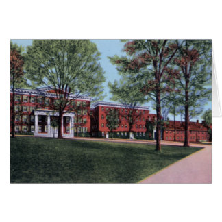 Universidad de Winston Salem Carolina del Norte Sa Tarjeta De Felicitación