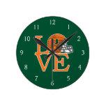 Universidad del amor de Miami Reloj Redondo Mediano