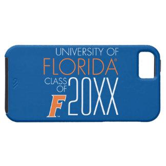Universidad del año 2 de la clase de la Florida iPhone 5 Carcasas