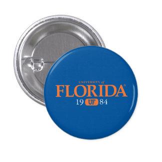 Universidad del año de la clase de la Florida Pin Redondo De 1 Pulgada