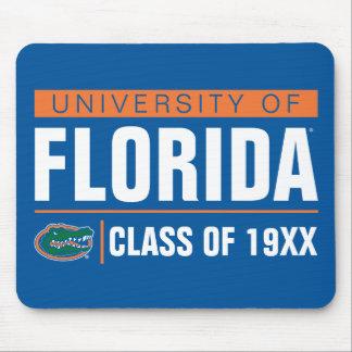 Universidad del año de la clase de la Florida Tapete De Ratón