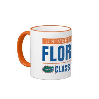 Universidad del año de la clase de la Florida Taza A Dos Colores