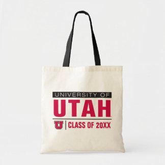 Universidad del año de la clase de Utah Bolsa Tela Barata